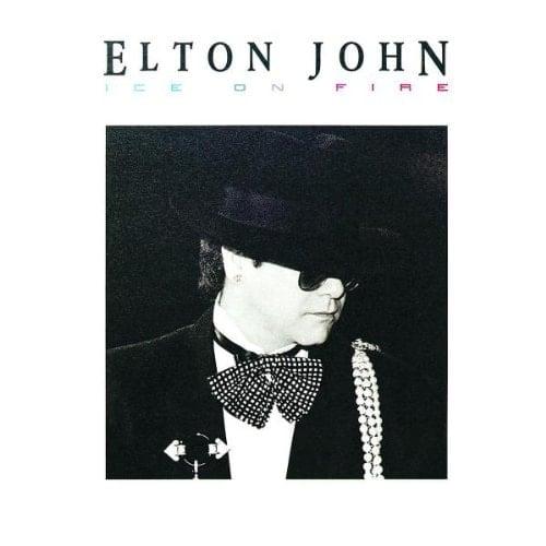 ELTON JOHN: CD ICE ON FIRE.