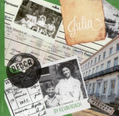 Buch JULIA - THE STORY OF JULIA LENNON, vom Autor signiert