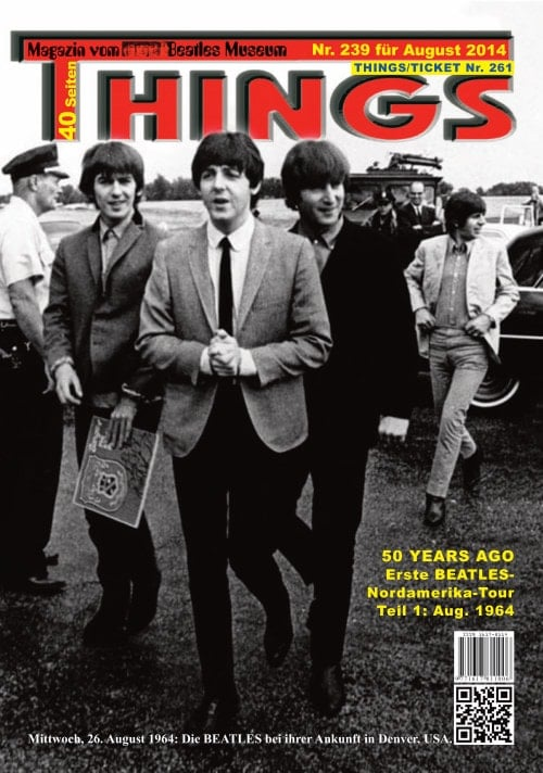 BEATLES-Magazin THINGS 239