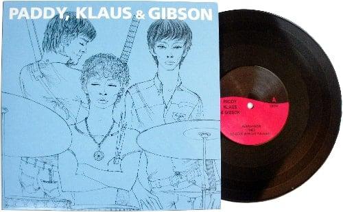 black vinyl 10 inch LP PADDY, KLAUS & GIBSON