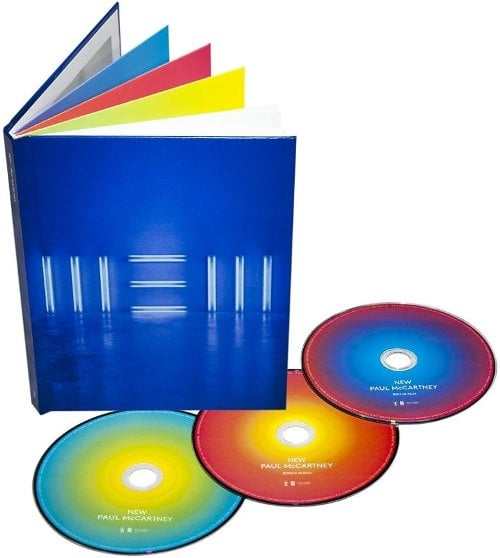 PAUL McCARTNEY: Box (2 CDs, 1 DVD, 1 Buch): NEW COLLECTOR'S EDIT