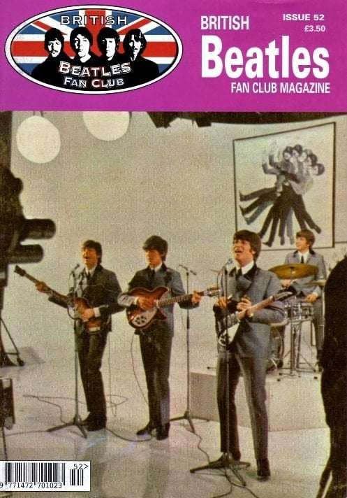 Fanmagazin BRITISH BEATLES FAN CLUB MAGAZINE - ISSUE 52