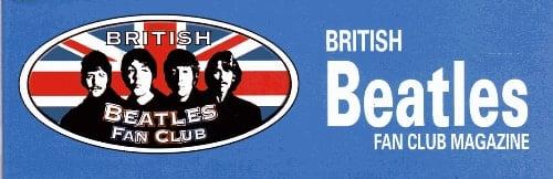 10 Hefte BRITISH BEATLES FAN CLUB MAGAZINE - ohne Verlängerung