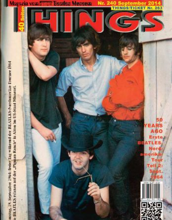 BEATLES-Magazin THINGS 240