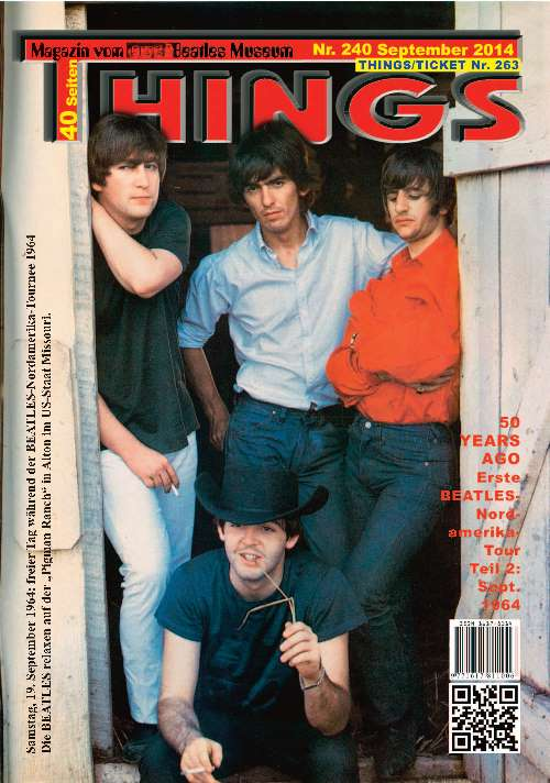 BEATLES-Magazin THINGS 240