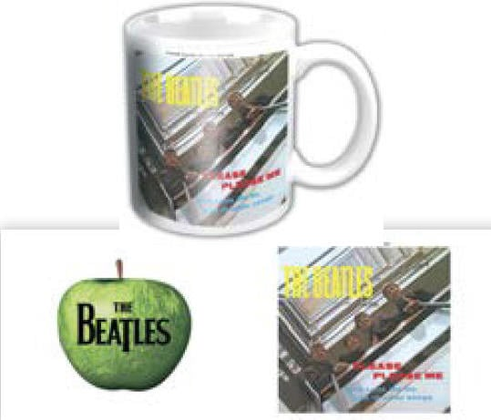 BEATLES-Mini-Kaffeebecher PLEASE PLEASE ME ALBUM COVER