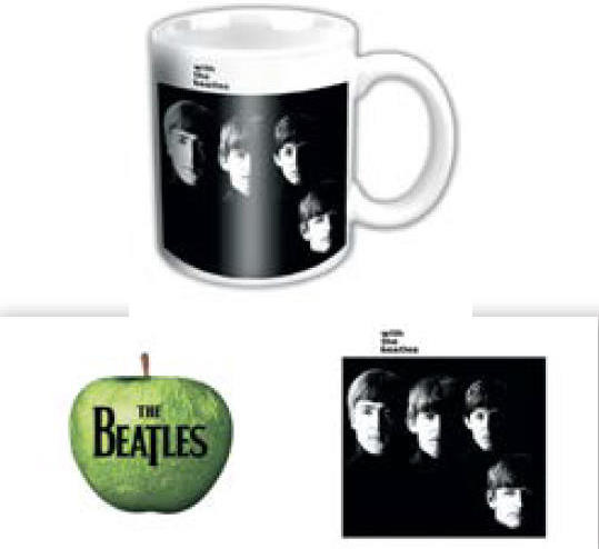 BEATLES-Mini-Kaffeebecher WITH THE BEATLES ALBUM COVER