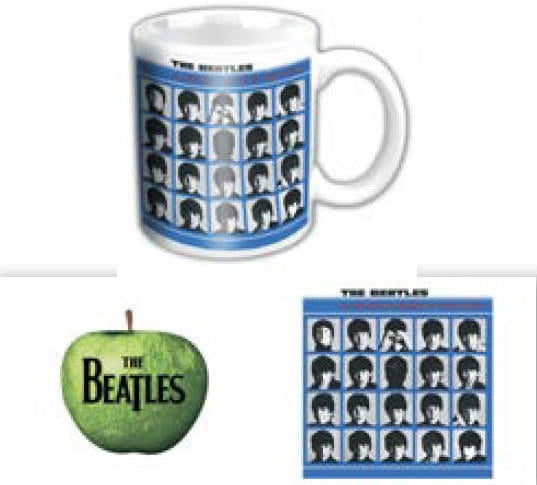 BEATLES-Mini-Kaffeebecher A HARD DAY'S NIGHT ALBUM COVER