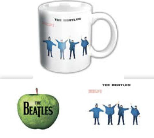 BEATLES-Mini-Kaffeebecher HELP ALBUM COVER