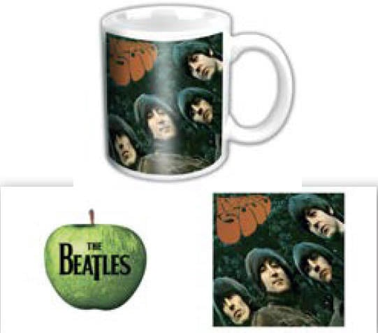 BEATLES-Mini-Kaffeebecher RUBBER SOUL ALBUM COVER