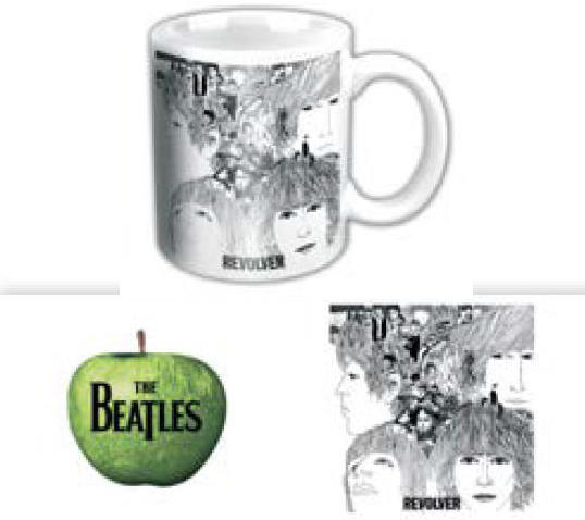 BEATLES-Mini-Kaffeebecher REVOLVER ALBUM COVER