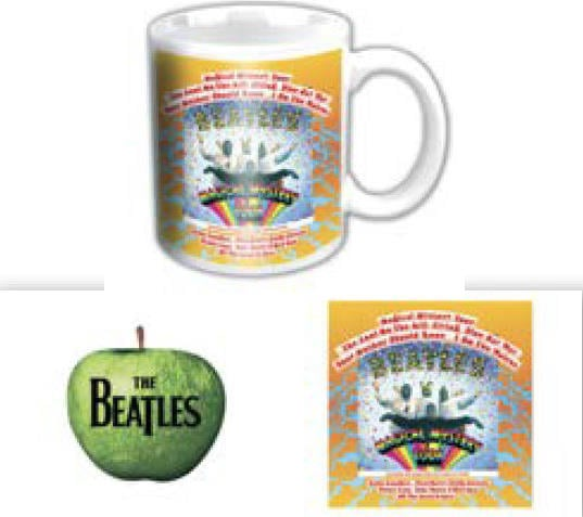 BEATLES-Mini-Kaffeebecher MAGICAL MYSTERY TOUR ALBUM COVER