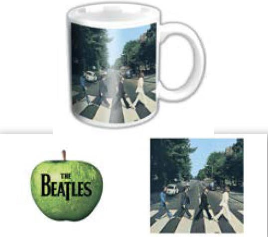 BEATLES-Mini-Kaffeebecher ABBEY ROAD ALBUM COVER