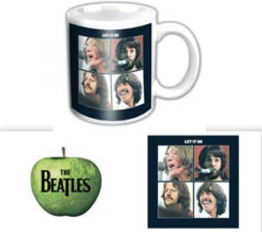 BEATLES-Mini-Kaffeebecher LET IT BE ALBUM COVER
