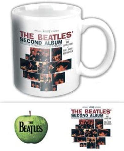 BEATLES-Kaffeebecher THE BEATLES SECOND ALBUM US ALBUM COVER