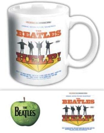 BEATLES-Kaffeebecher HELP! ORIGINAL SOUNDTRACK ALBUM US COVER