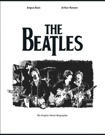 Comicbuch BEATLES - GRAPHIC-NOVEL-BIOGRAPHIE (BEATLES-Cover)