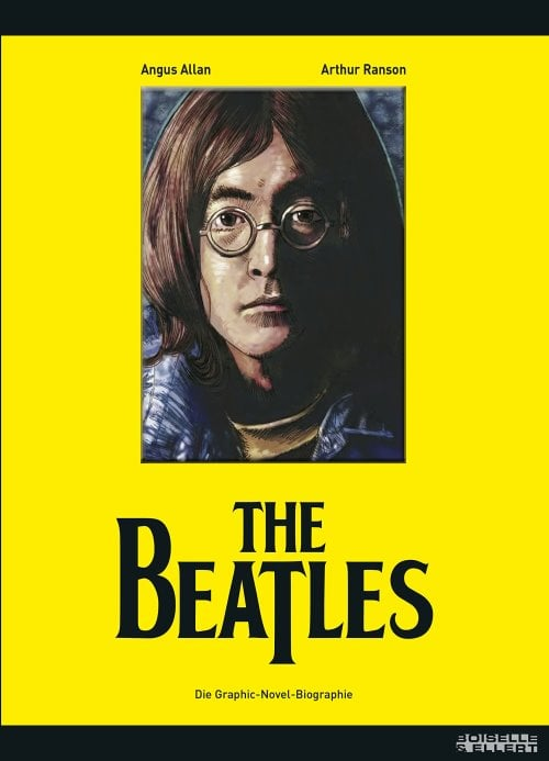 Comicbuch BEATLES - GRAPHIC-NOVEL-BIOGRAPHIE (LENNON-Cover)