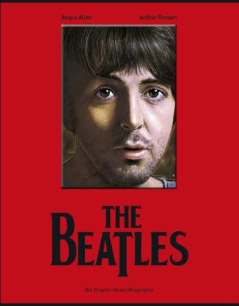 Comicbuch BEATLES - GRAPHIC-NOVEL-BIOGRAPHIE (McCARTNEY-Cover)