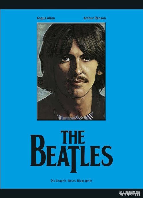 Comicbuch BEATLES - GRAPHIC-NOVEL-BIOGRAPHIE (HARRISON-Cover)