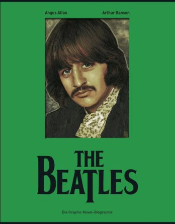 Comicbuch BEATLES - GRAPHIC-NOVEL-BIOGRAPHIE (STARR-Cover)
