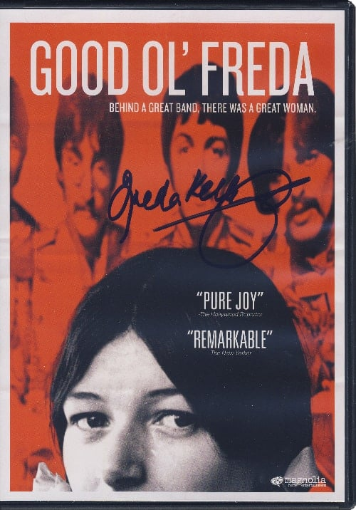 BEATLES: signierte DVD GOOD OL' FREDA