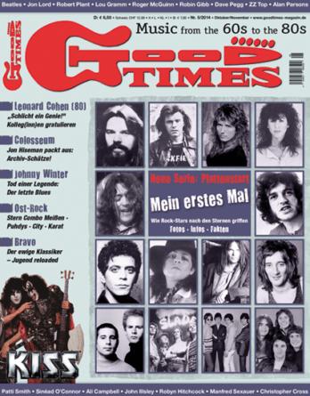 Musikzeitschrift GOOD TIMES 2014/05