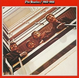 BEATLES: 2014er Doppel-LP THE BEATLES 1962 - 1966 (ROTES ALBUM)