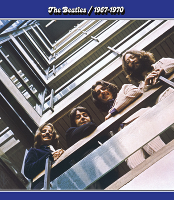 BEATLES: 2014er Doppel-LP 1967 1970 (BLAUES ALBUM)