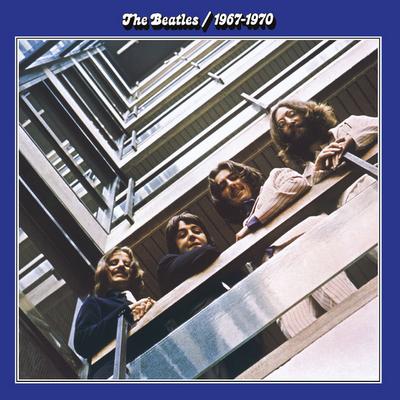 BEATLES: 2014er Doppel-LP 1967 1970 (BLAUES ALBUM)