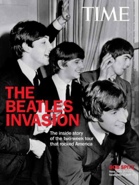 Dienstag, 7. Januar 2014: Buch THE BEATLES INVASION