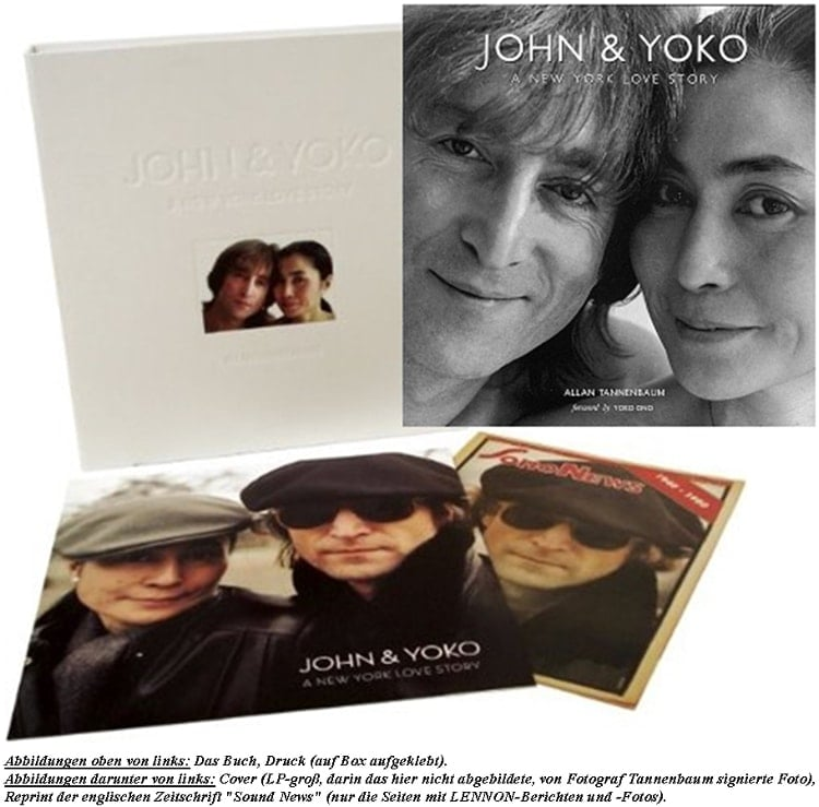 Buch/Bildband JOHN & YOKO - A NEW YORK LOVE STORY (limited ed.)