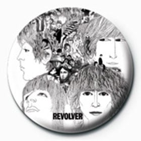 BEATLES-Button REVOLVER ALBUM COVER