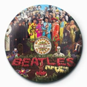 BEATLES-Button SGT. PEPPER ALBUM COVER