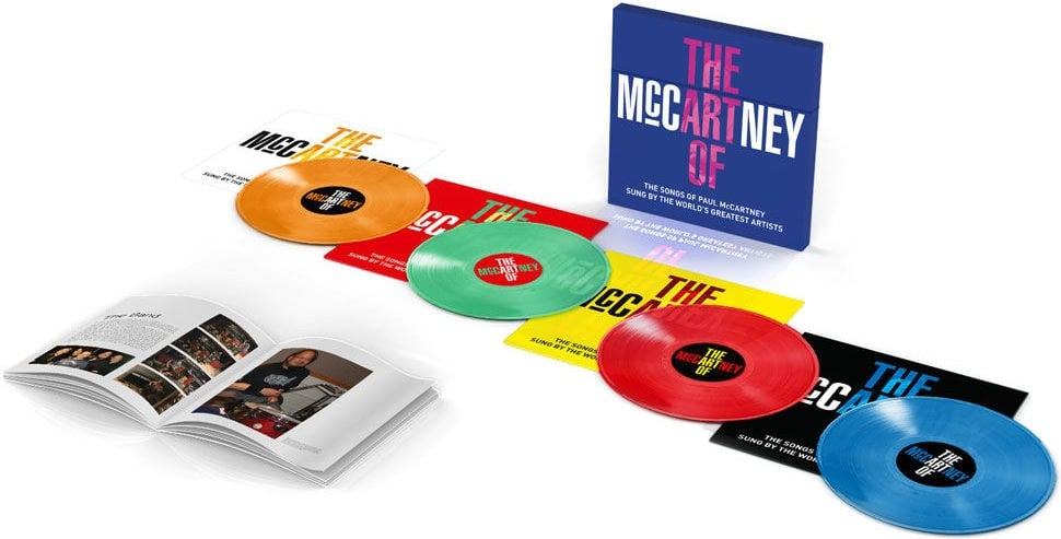 verschiedene: Box (4 LPs, Buch) THE ART OF McCARTNEY