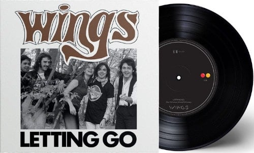 PAUL McCARTNEY: Vinyl-Single LETTING GO