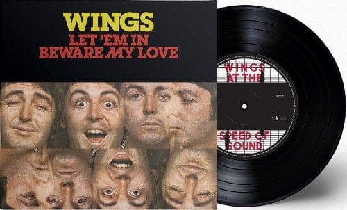 PAUL McCARTNEY: Vinyl-Single LET 'EM IN