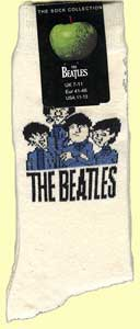 Socken CARTOON BEATLES GROUP ON LIGHT BEIGE
