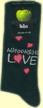Socken LETTERING ALL YOU NEED IS LOVE ON BLACK