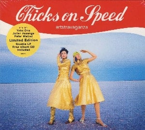 CHICKS ON SPEED: Doppel-LP+CD ARTSTRAVAGANZA mit YOKO ONO