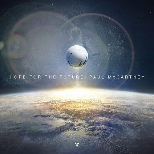 PAUL McCARTNEY: Vinyl-Maxisingle HOPE FOR THE FUTURE
