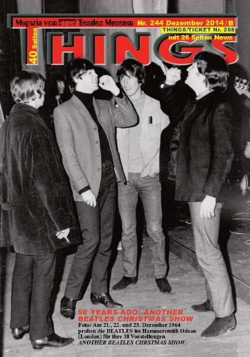BEATLES-Magazin THINGS 244