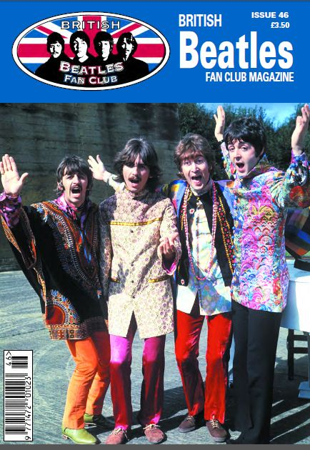 Fanmagazin BRITISH BEATLES FAN CLUB MAGAZINE - ISSUE 46