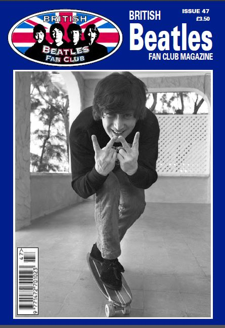 Fanmagazin BRITISH BEATLES FAN CLUB MAGAZINE - ISSUE 47