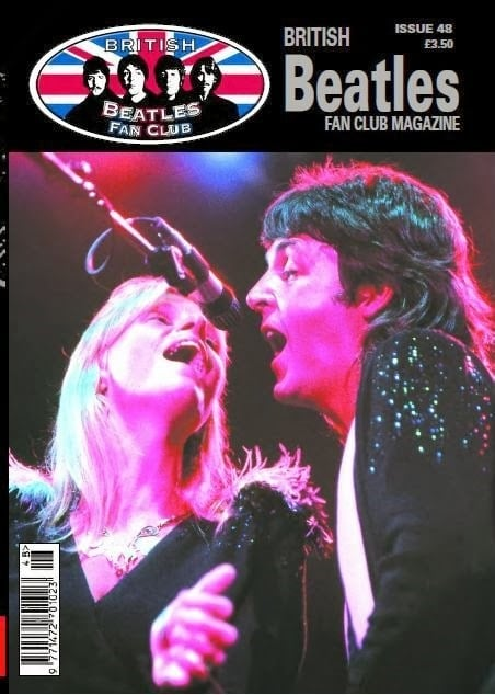 Fanmagazin BRITISH BEATLES FAN CLUB MAGAZINE - ISSUE 48