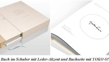 YOKO ONO-Buch INFINITE UNIVERSE AT DAWN (collectors edition)