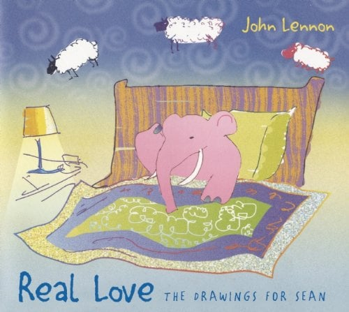 JOHN LENNON-Buch REAL LOVE - THE DRAWINGS FOR SEAN