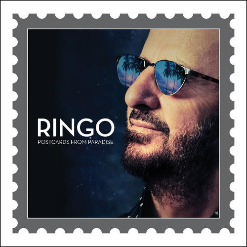 RINGO STARR: LP POSTCARDS FROM PARADISE