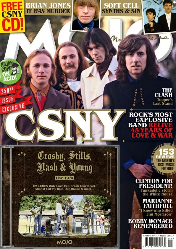 Musikmagazin MOJO 2014/09 mit CD