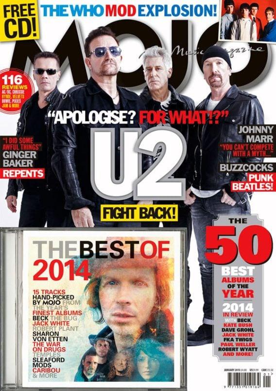 Musikmagazin MOJO 2015/01 mit CD
